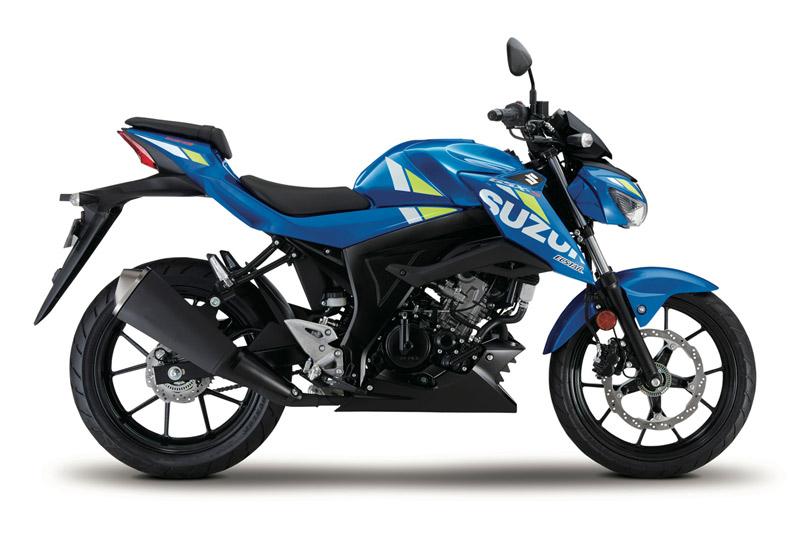 suzuki gsx s125 2020 estudio azul