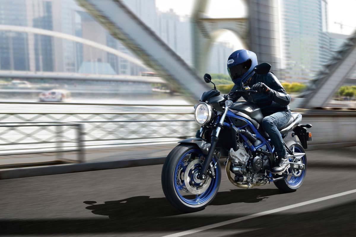 Suzuki SV650 2021: nuevos colores (image)