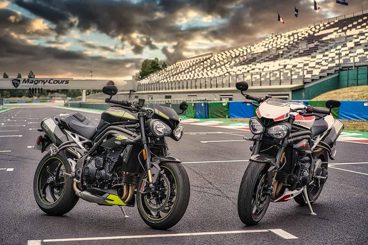 La Triumph Speed Triple RS al 0% de interés y con kit de accesorios de regalo (image)