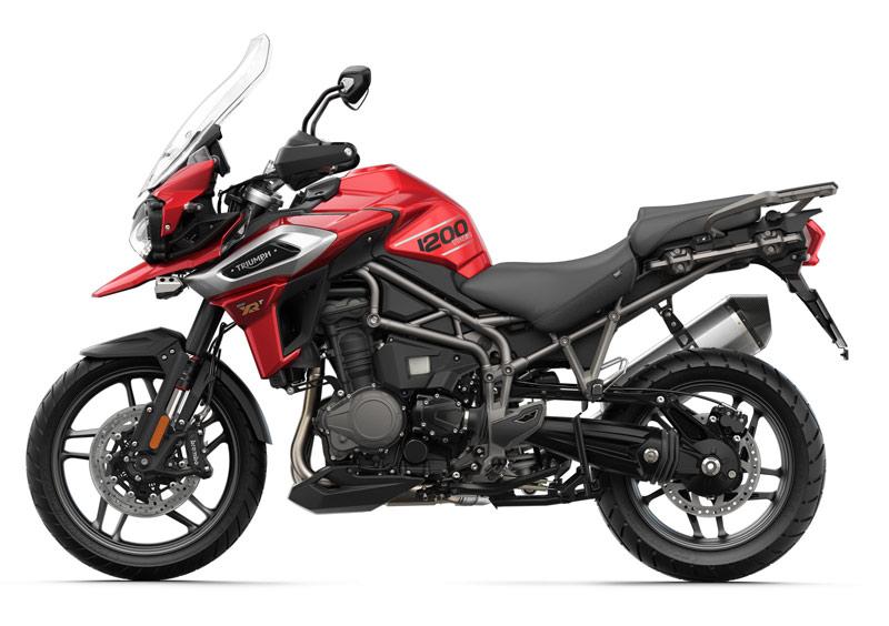 triumph tiger 1200 xrt 2018 perfil rojo