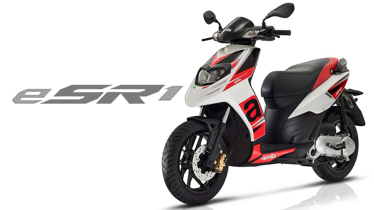 Aprilia eSR1: el scooter deportivo se pasa a las cero emisiones (image)