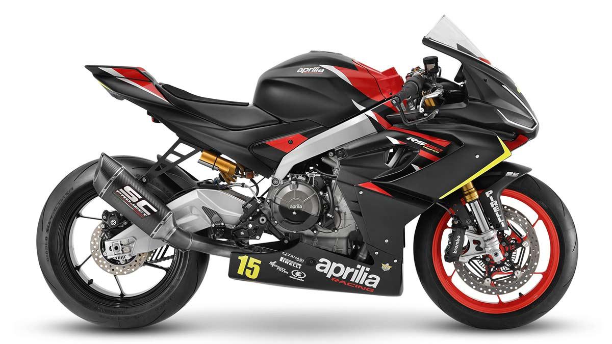 Aprilia RS 660 Trofeo: más potencia, menos peso (image)