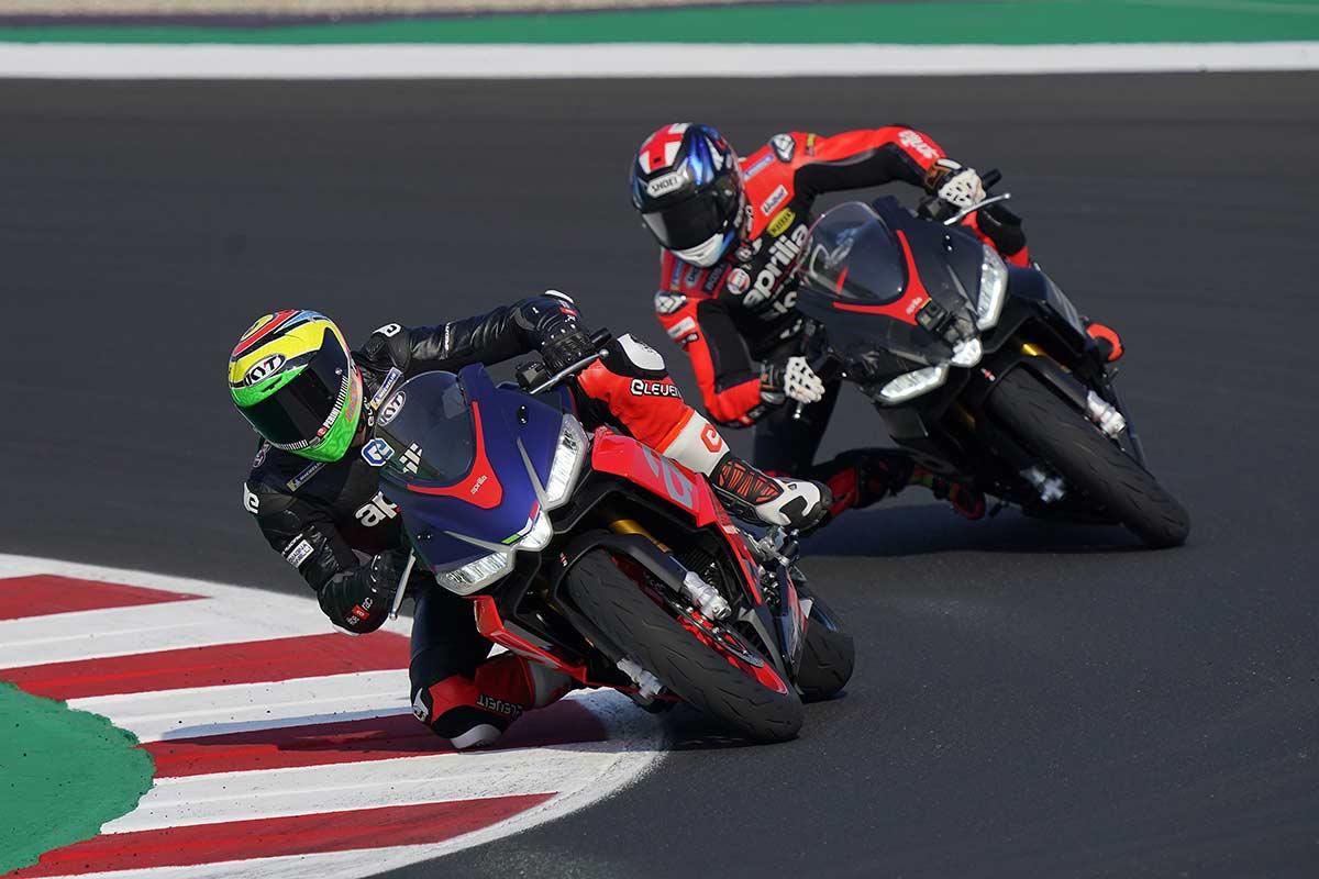 ¿Qué opinan los pilotos de MotoGP de la Aprilia RS 660? (image)