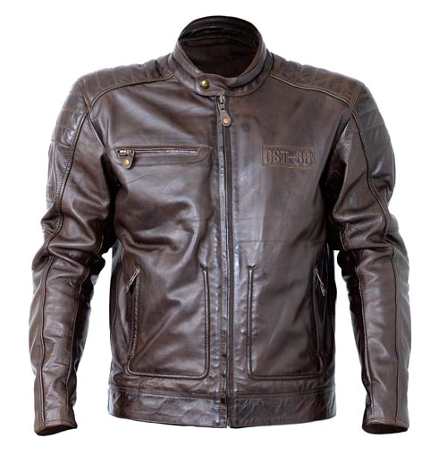 chaqueta cuero rst roadster