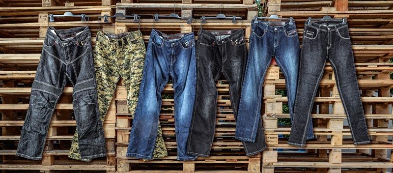gama jeans moto rst