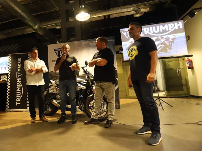 Presentación Triumph Experience Center Spain Triumph Madrid 2019