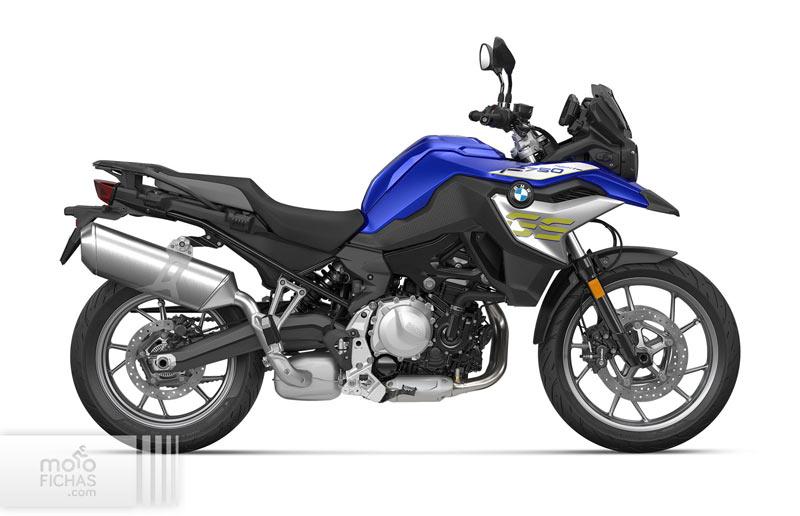 bmw f 750 gs 2021 estudio azul