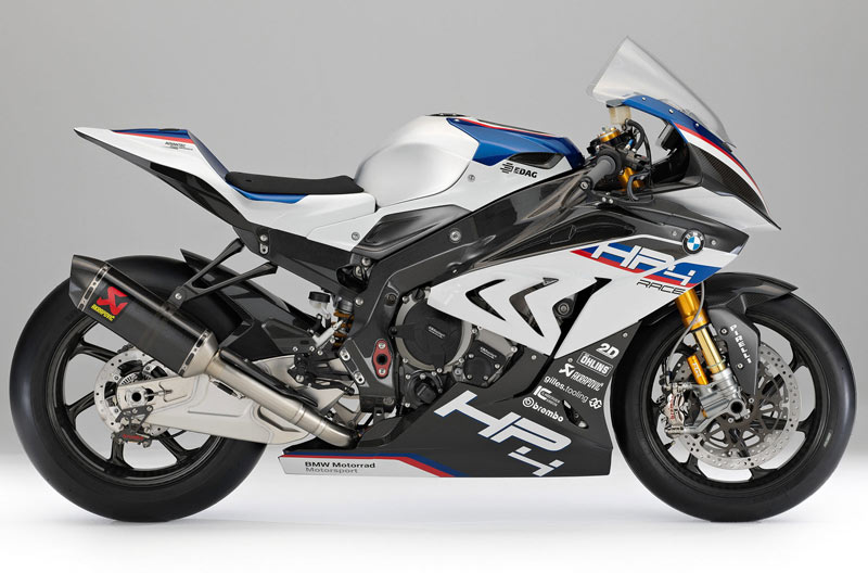 bmw hp4 race lateral