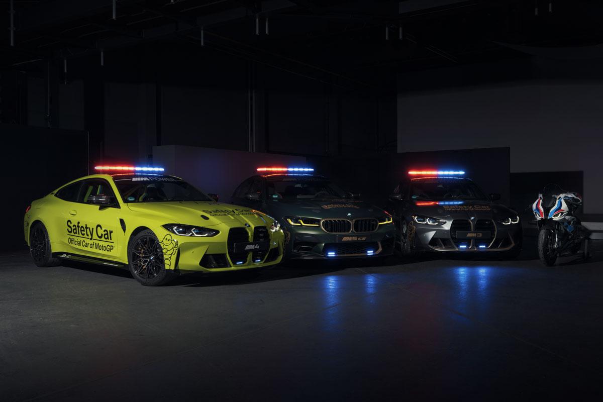 El escuadrón BMW M preparado para la temporada 2021 de MotoGP (image)