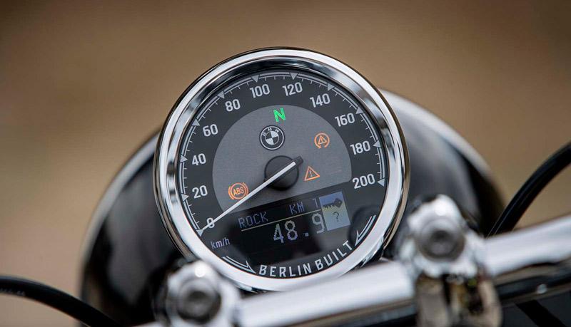 bmw r 18 prueba reloj instrumentacion