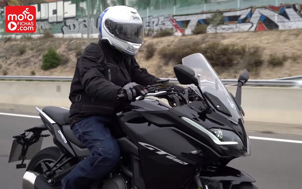 Videoprueba CF Moto 650GT (image)
