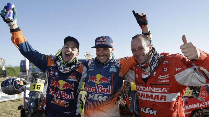 El increíble podio de Gerard Farrés en el Dakar (image)