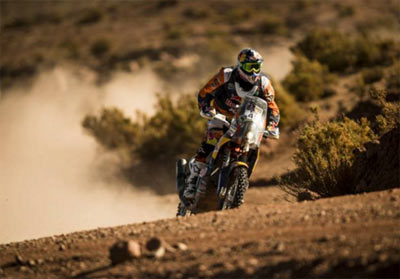 Meo gana la séptima etapa del Dakar (image)