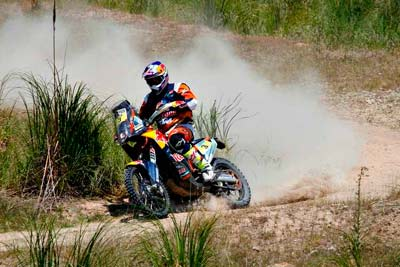 Dakar 2016 5ª etapa: Barreda quinto tras la implacable ofensiva KTM (image)
