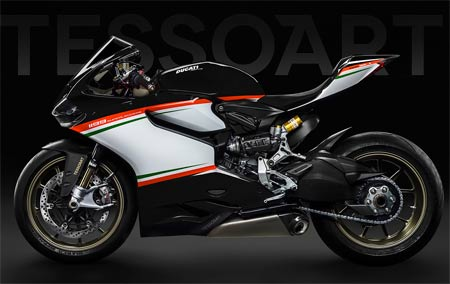 Ducati 1199 Superleggera Tricolore Nero (image)