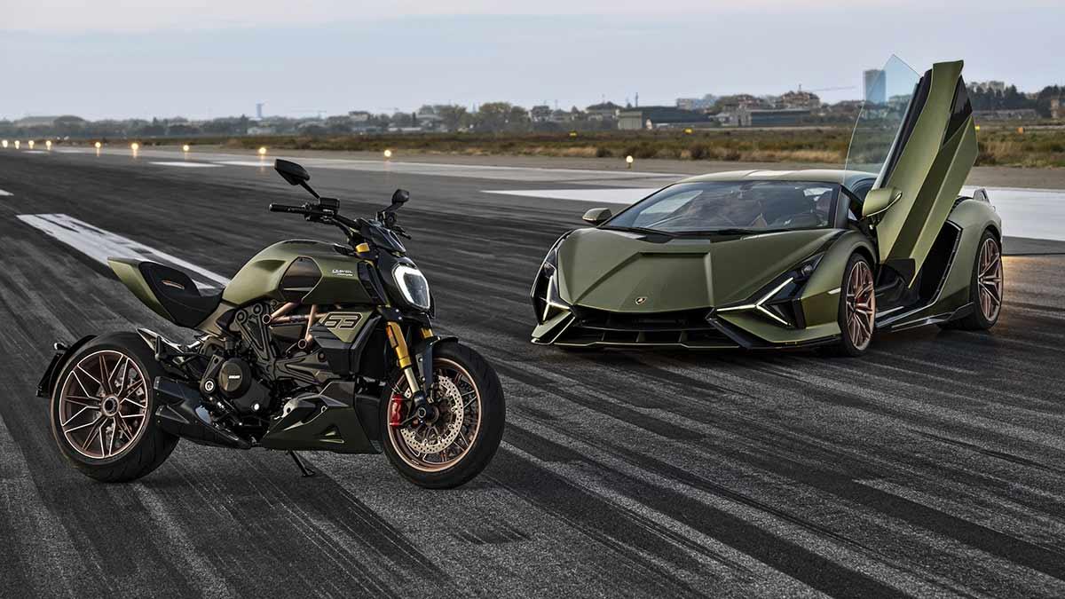 Ducati Diavel 1260 Lamborghini 2021: 630 unidades de exclusividad (VIDEO) (image)
