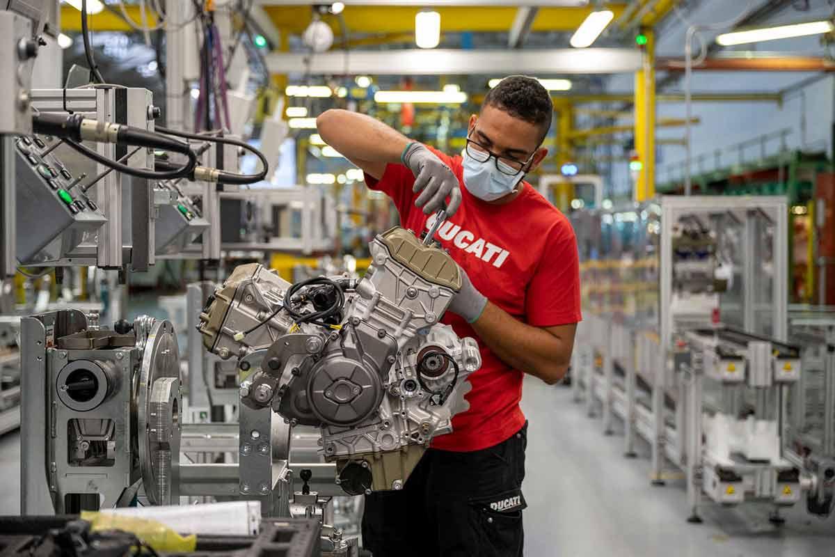 Ducati reanuda las visitas a la fábrica de Borgo Panigale (image)