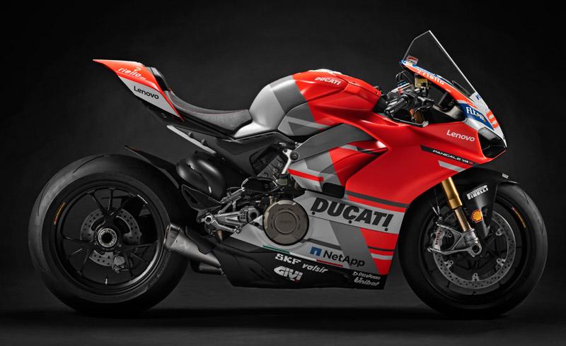 """Las Ducati Panigale V4 de la """"Carrera de Campeones"""", a subasta (image)"""