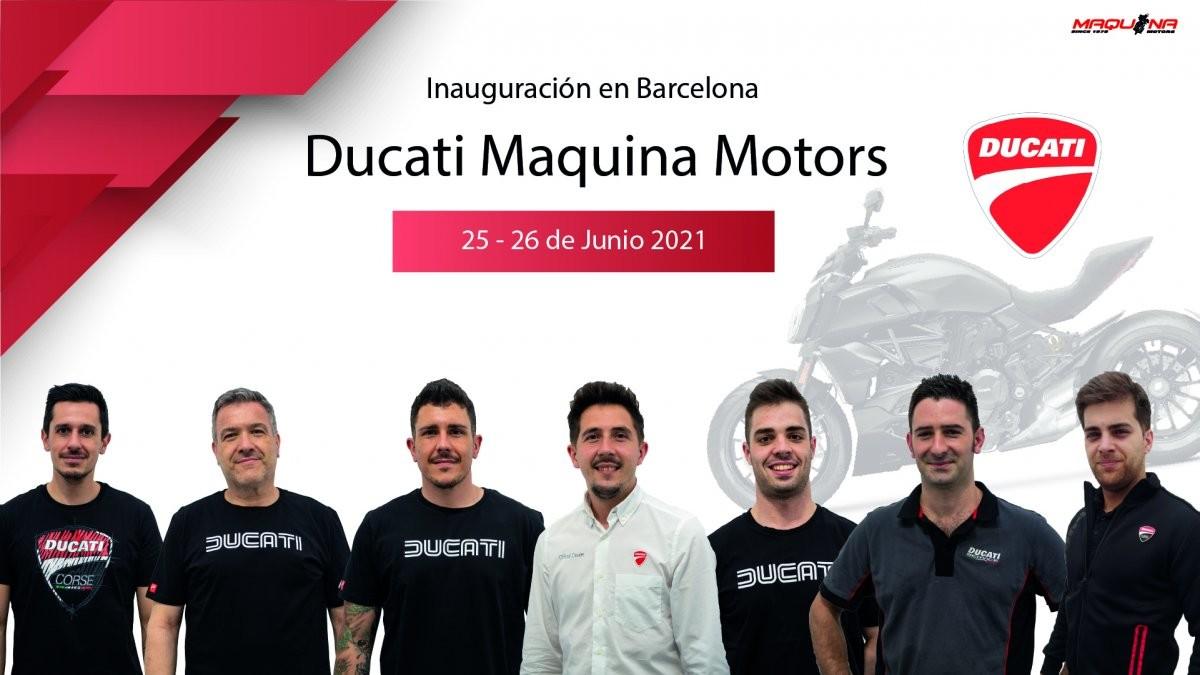 Inauguración de Ducati Maquina Motors en Barcelona (image)