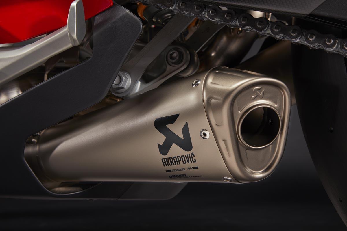 Accesorios Ducati Performance para Panigale V4   (image)