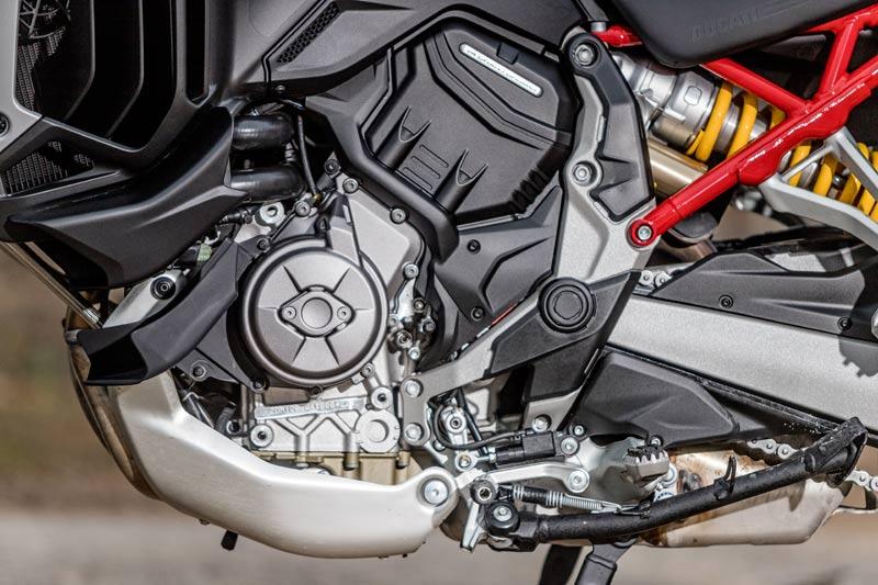 ducati multistrada v4 prueba motor chasis