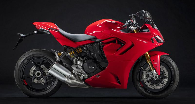ducati supersport 950 s 2021 estudio rojo