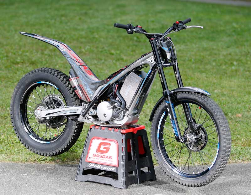 La Gas Gas TXTe EGD eléctrica de trial triunfa en su debut (image)
