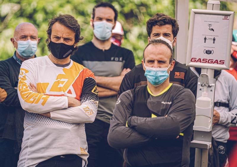 united in dirt gasgas test 2