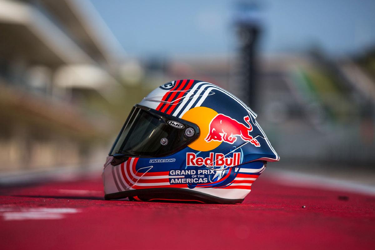 HJC RPHA 1 Red Bull Austin GP (image)