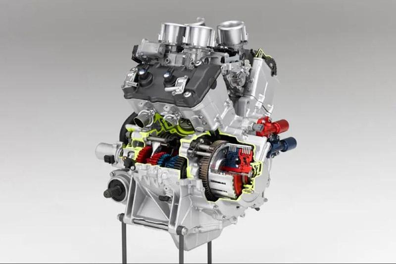 Honda dtc dual clutch transmission vfr1200f