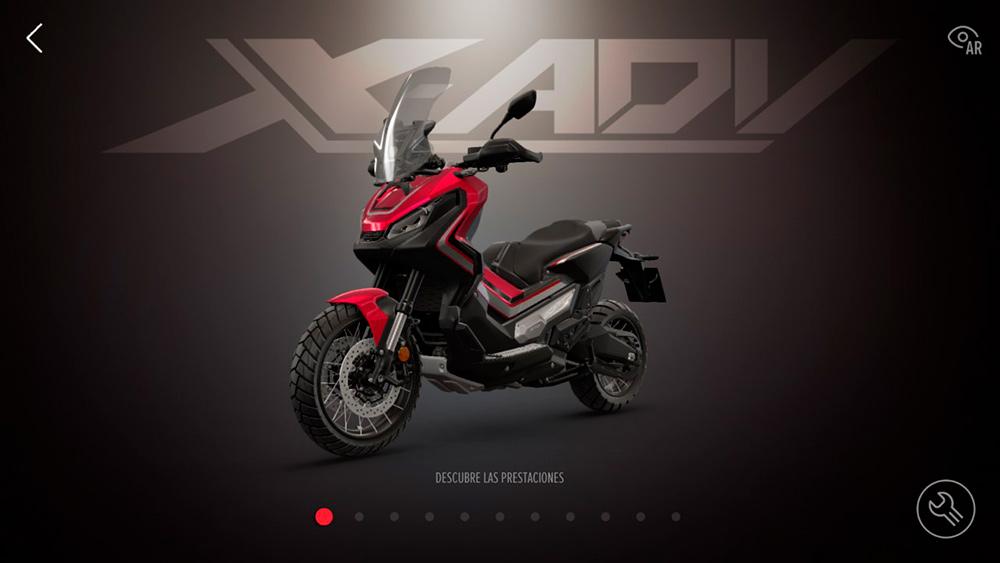Mete una moto en casa, con la nueva App Honda Motorcycles Experience (image)
