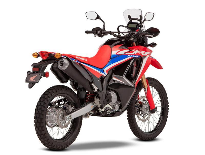 honda crf300 rally 2021 perfil