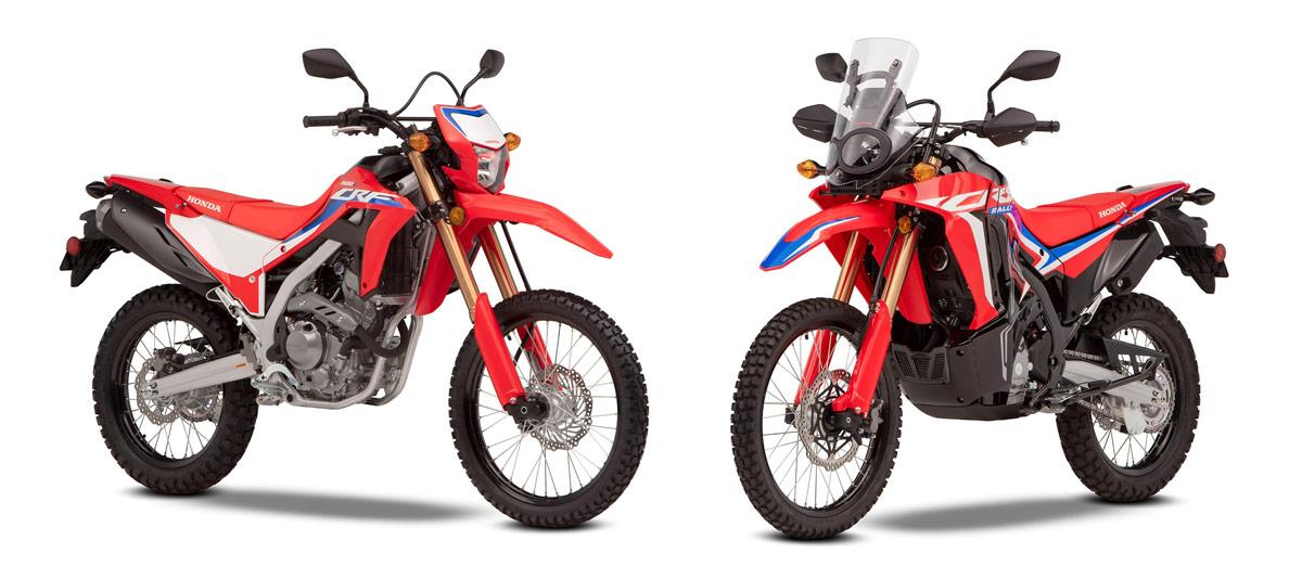 Honda CRF300L y CRF300 Rally: las pequeñas trail se hacen mayores (image)