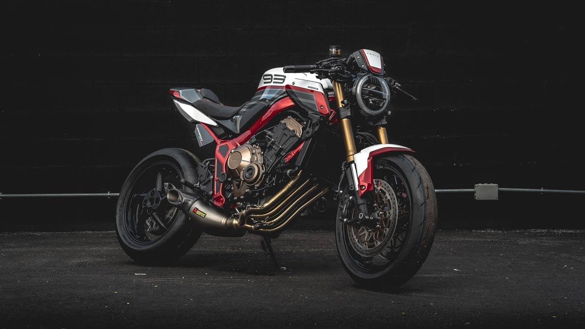 """Honda CB650R """"Fénix"""": así es la ganadora del Honda Garage Dreams Contest (image)"""