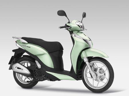 Honda SH Mode 125 2015 Pearl Celadon Green
