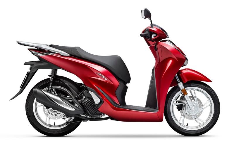 honda sh125i 2020 rojo