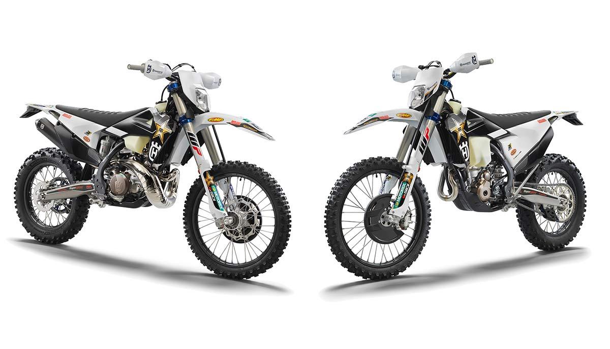Husqvarna TE 300I y FE 350 Rockstar Edition 2022: Estrellas del rock (image)