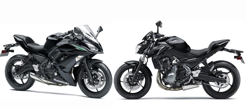 Kawasaki Ninja 650 y Z650 2017