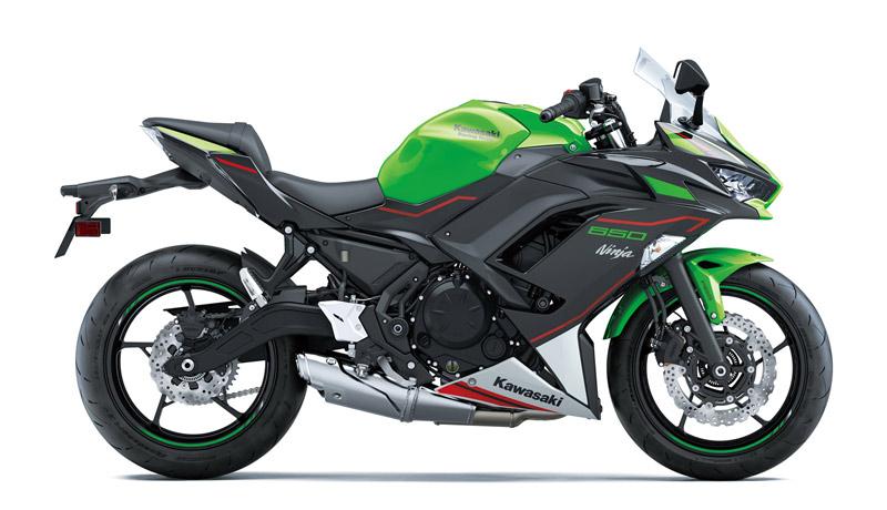 kawasaki ninja 650 2021 estudio verde