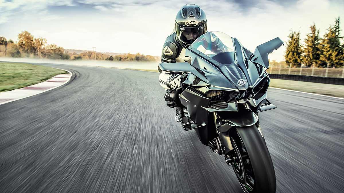 Kawasaki Ninja H2R 2022: poder supercharger (image)