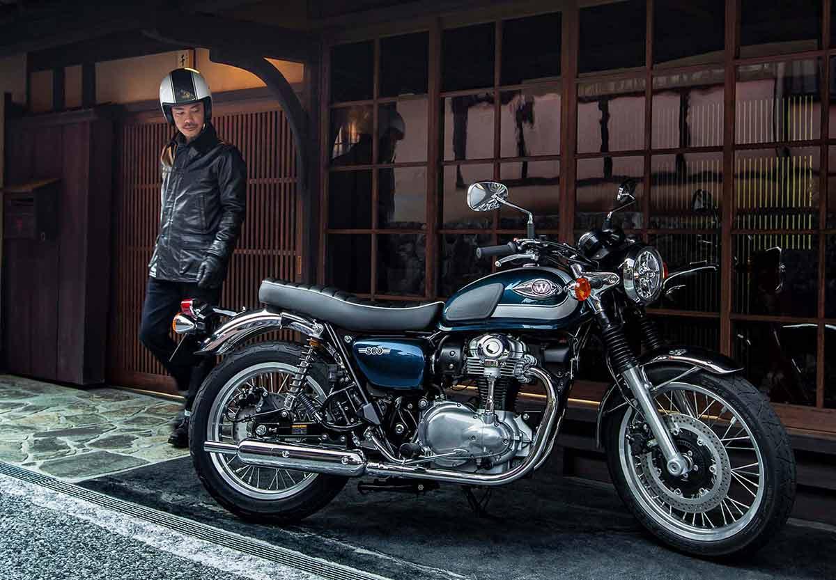 Kawasaki 2021: turno para las retro Z900RS y W800, junto a las Z y Ninja de 125 (image)