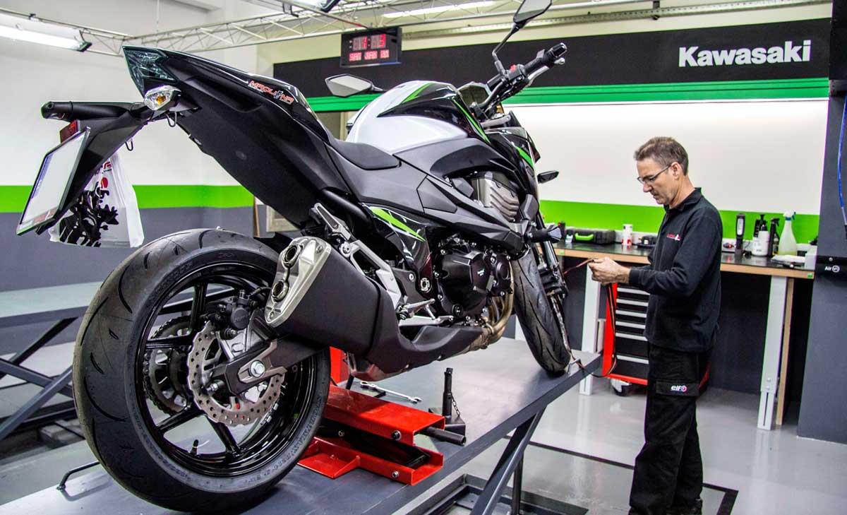 Kawasaki te regala una revisión para volver a la carretera (image)