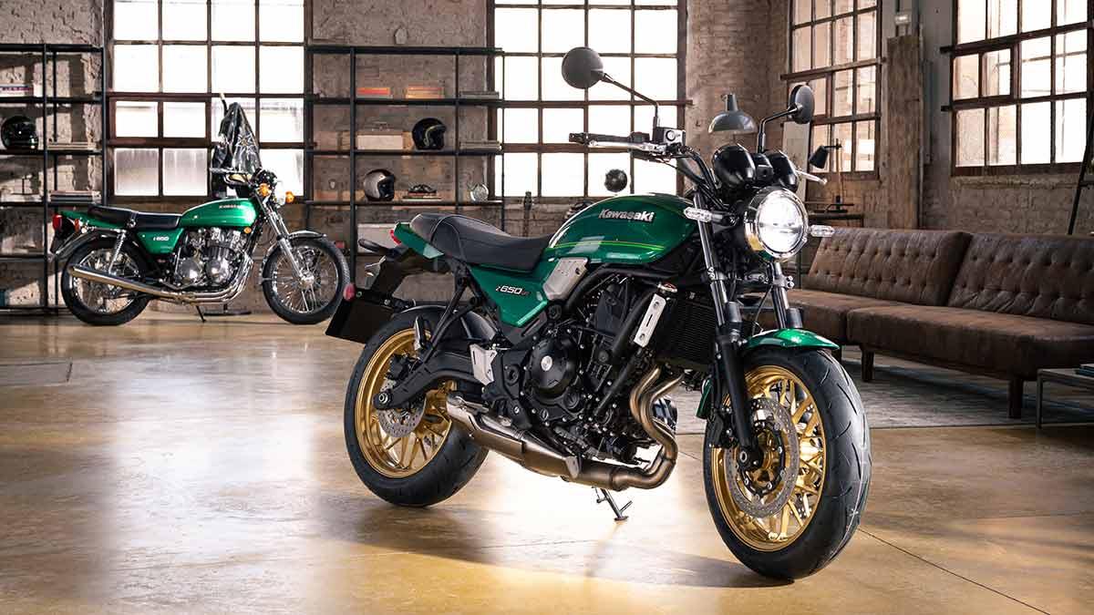 Kawasaki Z650RS 2022: la quinta cara del bicilíndrico de 'seis y medio'  (image)