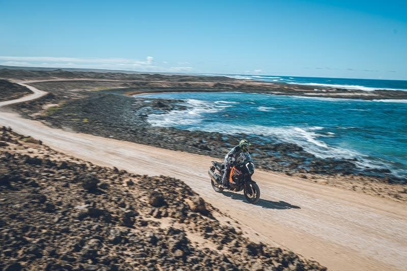 ktm 1290 super adventure s 2021 prueba accion off road 15
