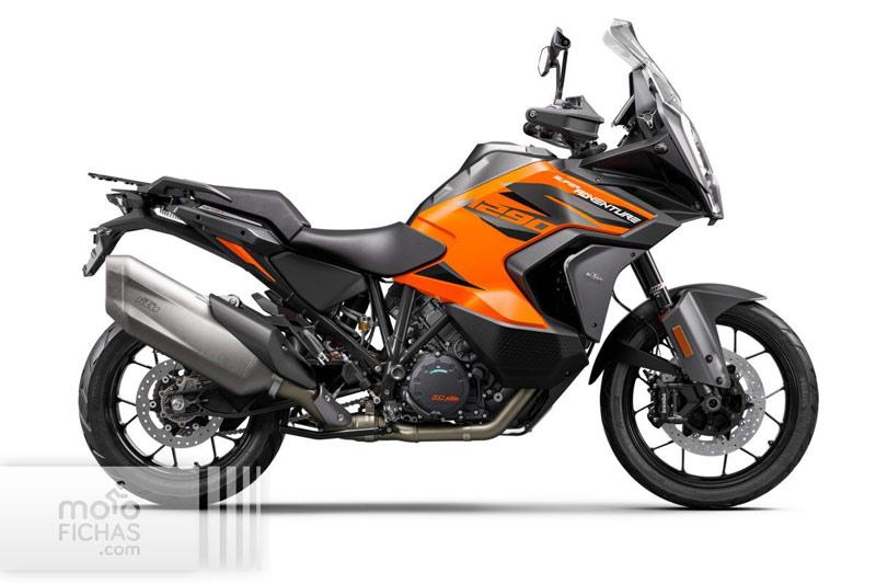 ktm 1290 super adventure s 2021 estudio naranja