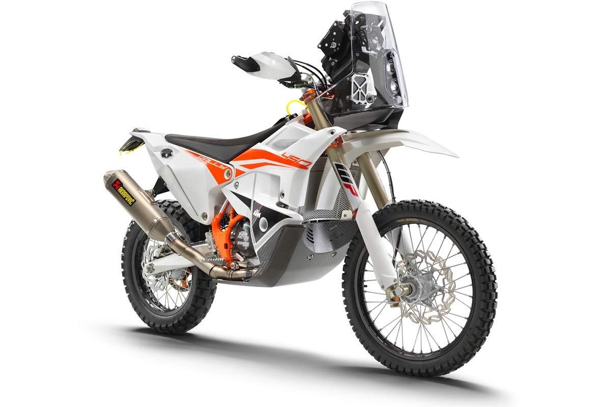 KTM 450 Rally Factory Replica 2022: Ready to Raid   (image)