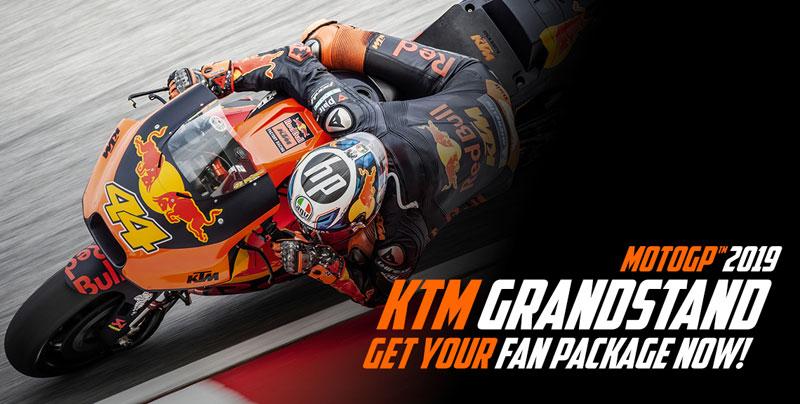 No te pierdas la KTM Fan Tribune en Montmeló (image)