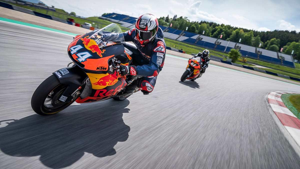 Súbete a una KTM de Moto2 en el circuito de Spielberg (image)