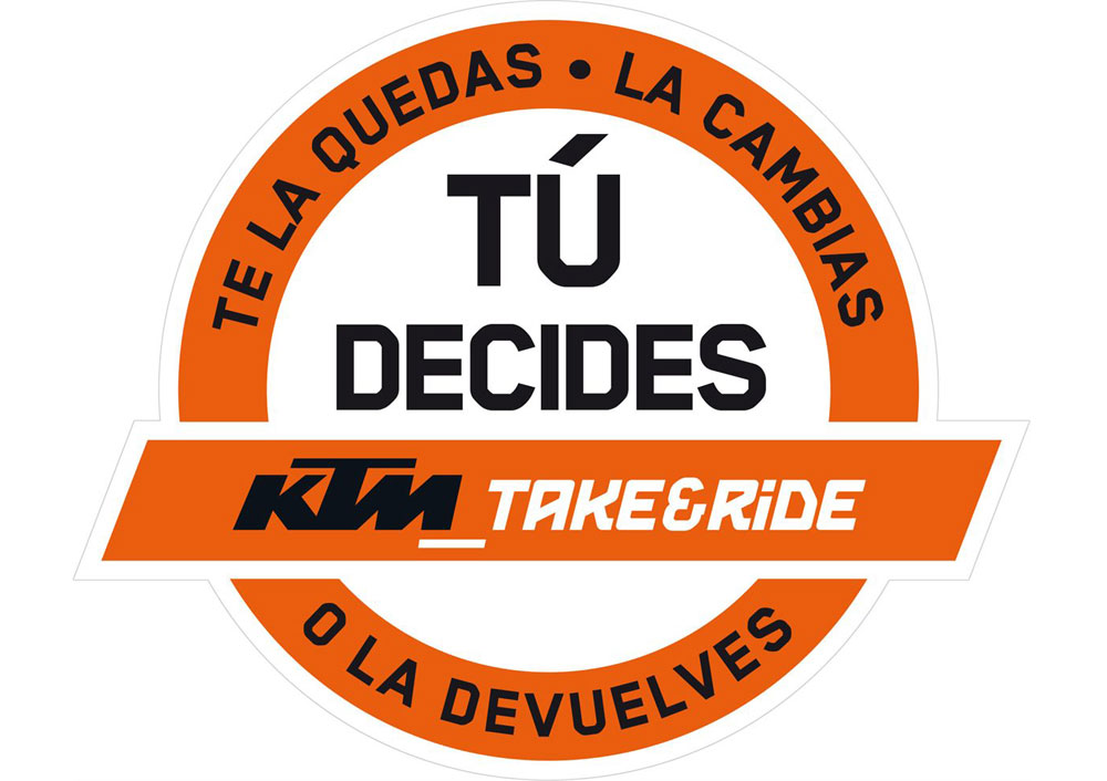 """KTM lanza """"Take&Ride"""": Te la quedas, la cambias o la devuelves (image)"""