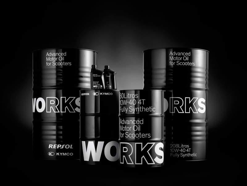 aceite works kymco repsol gama